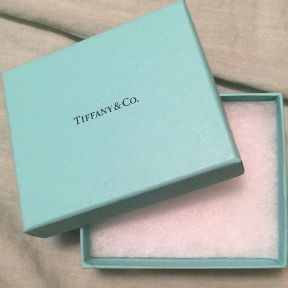 217acb531b301 Tiffany   Co. Accessories   Tiffany Co Gift Box Blue 4x35 Pre Owned ...